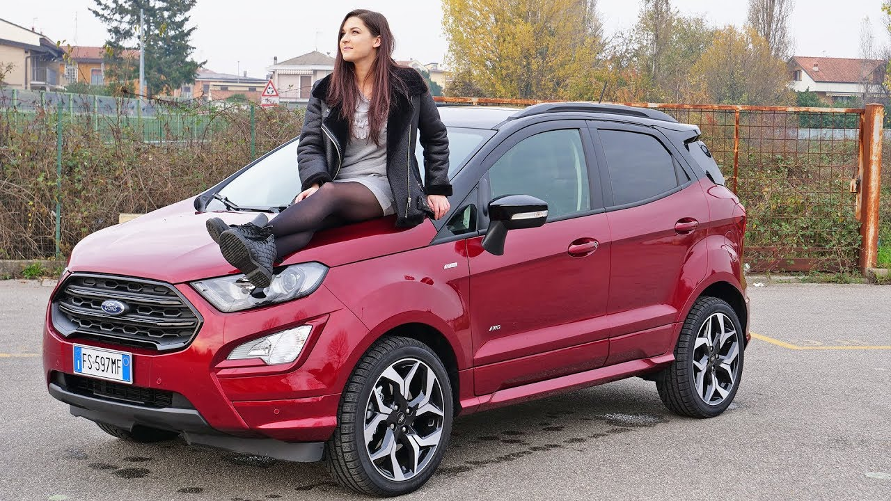 test drive ford ecosport awd 2018 promossa youtube