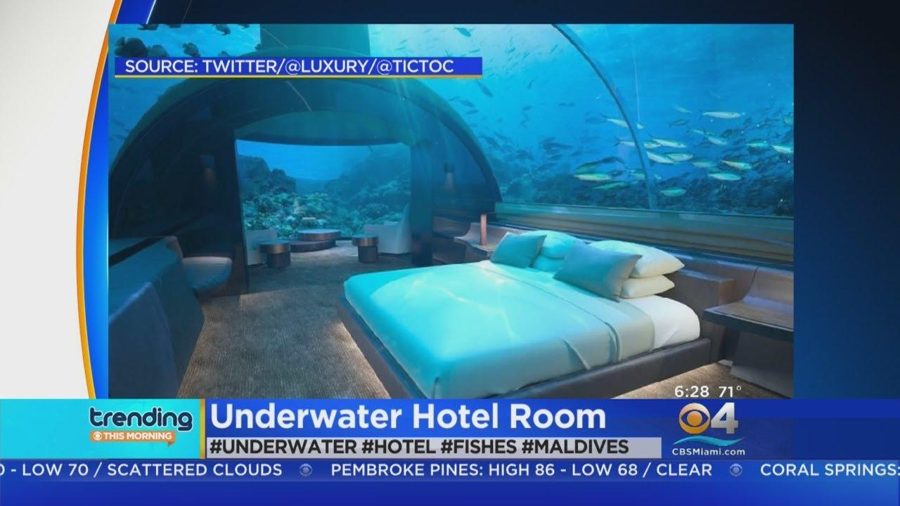 Trending: Underwater Hotel Rooms