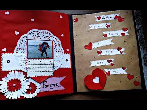 diy-anniversary-scrapbook-|-creative-craft-ideas-|-handmade-scrapbook