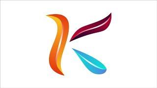 Professionelles Logo-Design | erstellen eines Buchstaben K-logo im 3D-Stil - lobaMatala