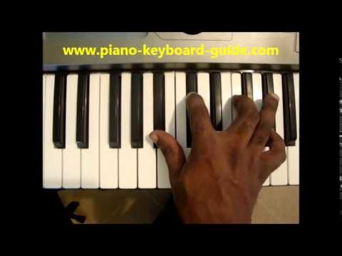 How To Play Bbm7 Chord B Flat Minor Seventh Bbmin7 On Piano