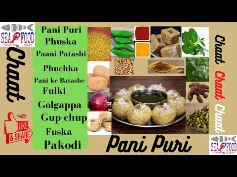 Immortal Panipuri Golgapa Fuska(പാനിപുരി ഗോളഗപ്പ )|Seafood Cravers&Players|ArunAlexElengical