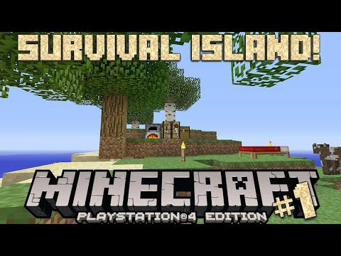 Minecraft | Survival Island #1| SO MANY ANIMALS!