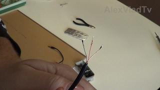 Как паять провода наушников, гарнитур(провода с лаковой изоляцией).