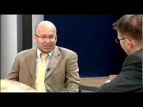 Blick hinter die Kulissen 04- Daniel Caspary MdEP und Dietrich Schneider, Dolmetscher