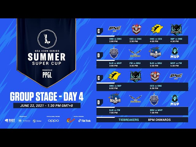 Wild Rift: SEA Icon Series - Summer Super Cup [Group Stage] - Day 4