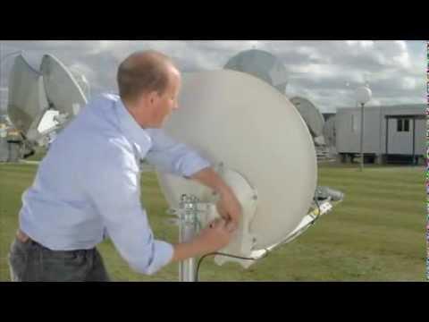 L'installation vidéo de KA-SAT 9° Est