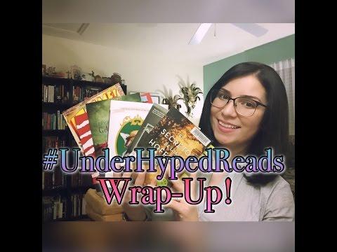 #UnderHypedReads Wrap-Up!