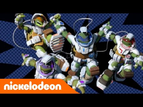 Tartarughe Ninja   La nuova sigla nello spazio   Nickelodeon