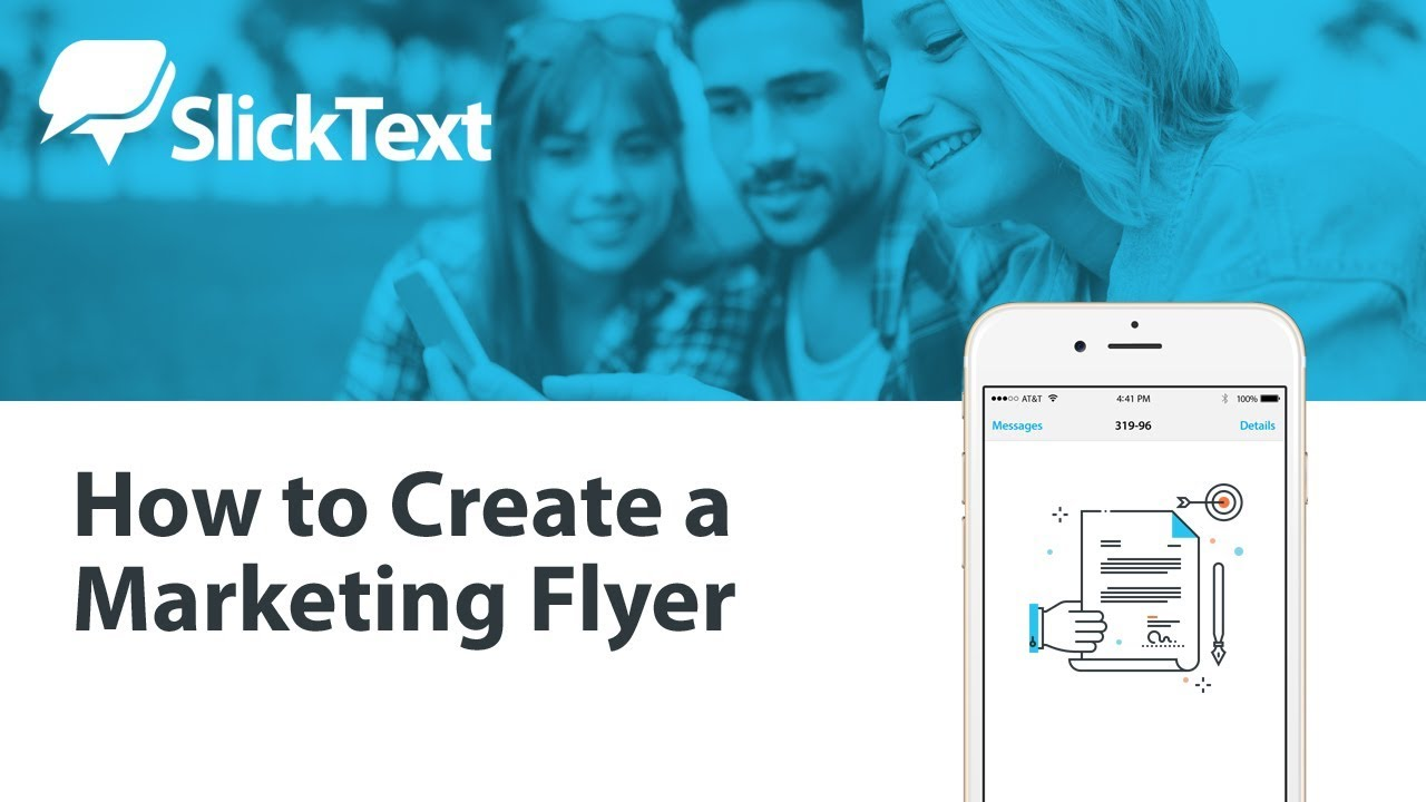 how to create a marketing flyer youtube