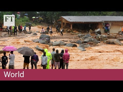 Sierra Leone mudslide kills hundreds | World