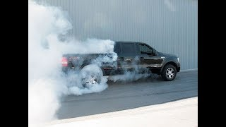 The Ford Truck Runs! Bulletproofed On A Budget!