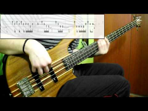 Incubus - Are You In? (Bass Cover) (Play Along Tabs In Video)