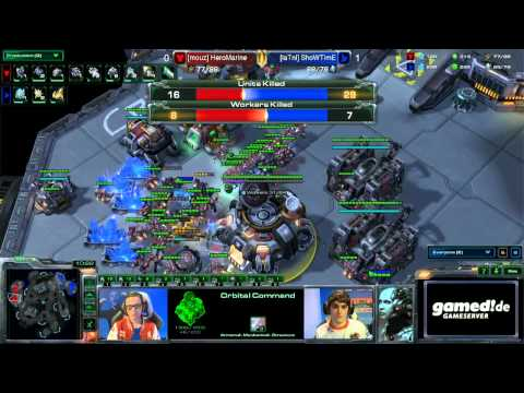 StarCraft 2 - Showtime vs. Marine 1/2 - EPS Finals Germany Winter 2014