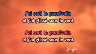 Karaoké Sous le vent - Garou *