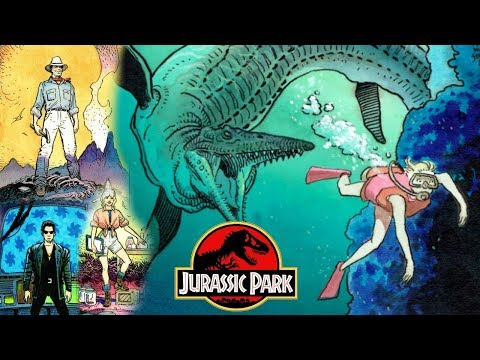 Jurassic Park Cancelled Animated Series - Jurassic Park Ingen - Jurassic Park Chaos Theory