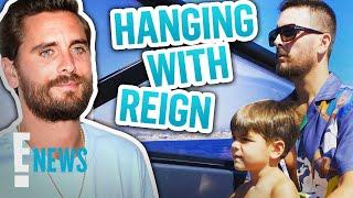 Scott Disick Hangs With Son Reign Amid Kourtney's Engagement | E! News
