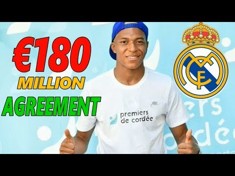 TRANSFER NEWS: MBAPPE TO REAL MADRID ! DONE ! €180M DEAL AGREEMENT WITH MONACO