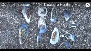 Quest 4 Treasure # 116 Treasure Hunting A Beach !! By: Quest For Details