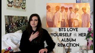 Video BTS (방탄소년단) - LOVE YOURSELF 承 'HER' ALBUM REACTION download MP3, 3GP, MP4, WEBM, AVI, FLV April 2018