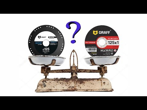 Что лучше? Абразивный диск по металлу или алмазный. Тест диска GRAFF Black.