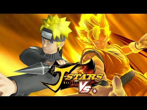 J-Stars Victory Vs+ (PS4) - Goku vs Naruto Gameplay [1080p] TRUE-HD QUALITY