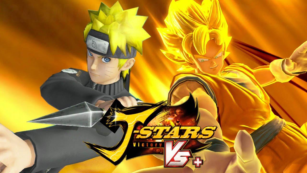 J-Stars Victory Vs+ (PS4) - Goku vs Naruto Gameplay [1080p] TRUE-HD QUALITY