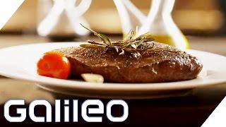 So gelingt das perfekte Steak | Galileo | ProSieben