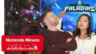 First Look at New Paladins Updates + Giveaway - Nintendo Minute