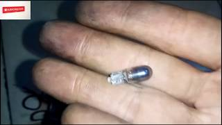 Tutor mengganti lampu warna (Led) spidometer New Jupiter Mx