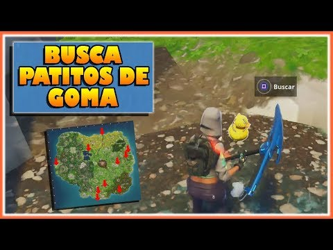 BUSCA PATOS DE GOMA - DESAFIOS SEMANA 3 - FORTNITE