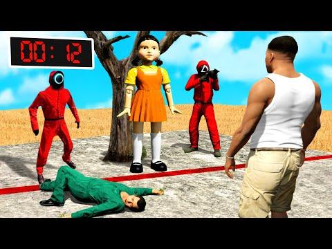 GTA 5 aber es ist SQUID GAME!!😨