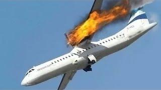 TOP #13 aviões caindo durante a decolagem e aterrissagem