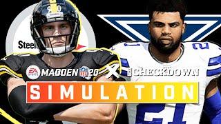 Pittsburgh Steelers vs. Dallas Cowboys Week 9 | Madden 2020 Season Simulation