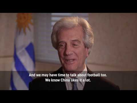 An interview with President of Uruguay Tabare Vazquez