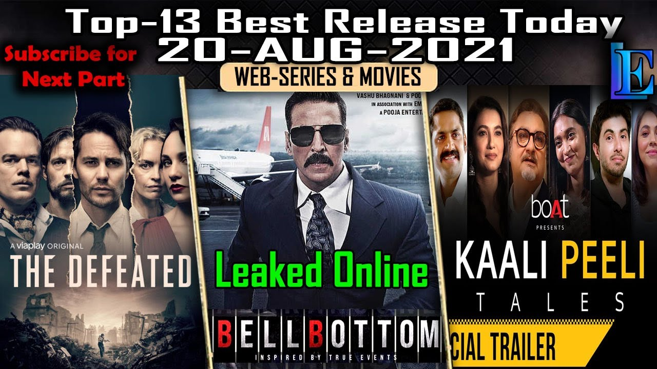 Download Top-13 Release on 20-AUGUST Series & Movies ON #Netflix #Amazon #Hoichoi #Voot #Youtube