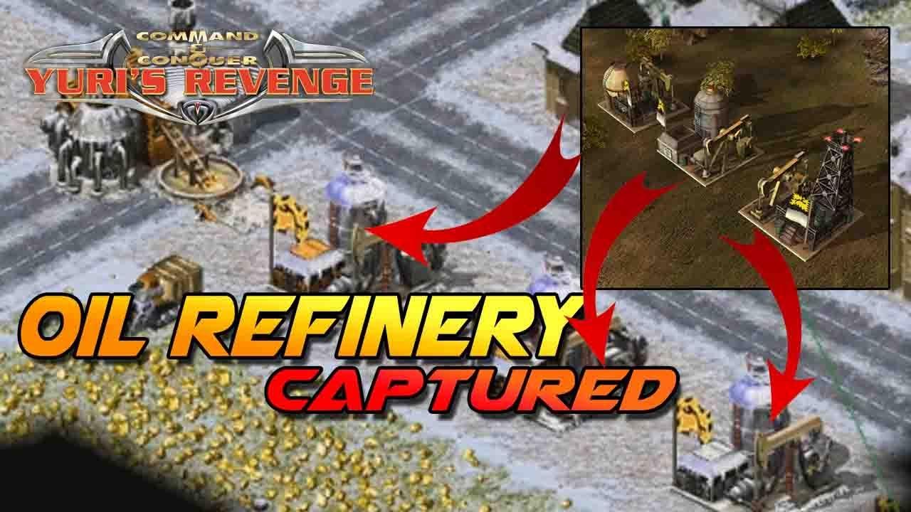 Yuri's Revenge Online : หมูมะนาว ออนไลน์ Oil Refinery คือหัวใจหลักของเศรษฐกิจกองทัพ (Eng CC)