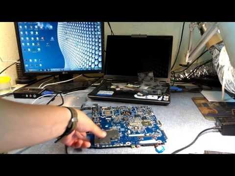 Ремонт системы заряда батареи на ноутбуке. Вылетел ШИМ контроллер.
