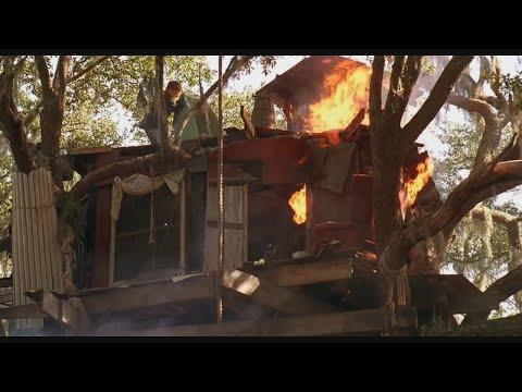 Битва за домик на дереве ! L Война (1990) L Киномомент