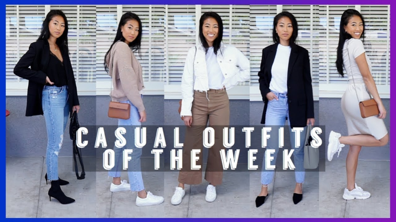 CASUAL SPRING OUTFIT IDEAS | Spring Lookbook 2019 5