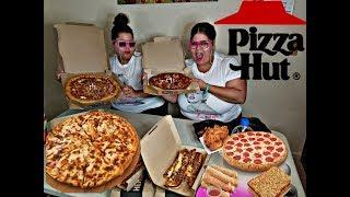 Pizza Hut Mukbang 🍕🍕🍕🍕