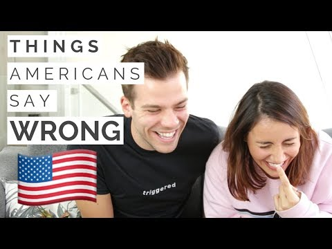 Words Americans Pronounce Wrong! | American vs British!