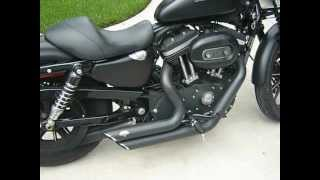 Iron 883 - New Quiet Baffles for Vance and Hines Short Shots
