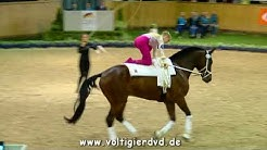 Lara Thiel - Damen 10 - DJM Voltigieren Aachen 2017