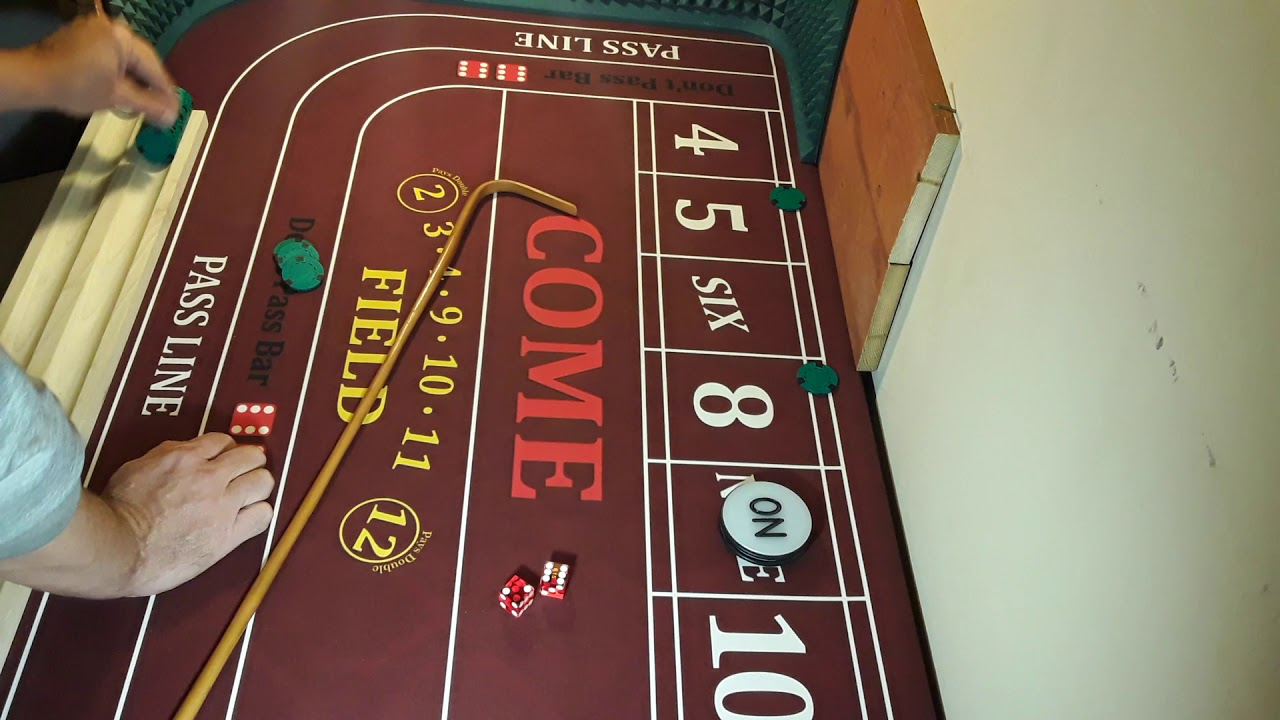 Simple Craps Strategy