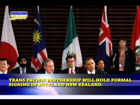 Bizwatch  - TPP will hold formal signing in Auckland New Zealand