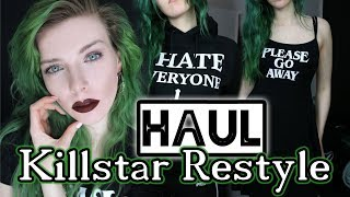 KILLSTAR - RESTYLE - STAYCOLD APPAREL - Try on HAUL
