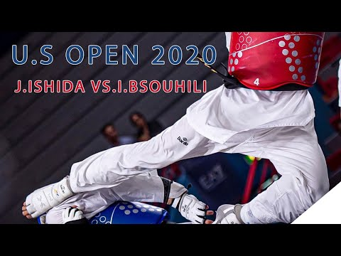 U S Open 2020 G2 Taekwondo J Ishida USA Vs I BSouhili FRA