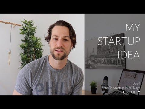 Day 1 - My Startup Idea