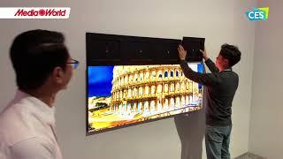 Samsung Micro LED, il TV a piastrelle grande quanto vuoi - CES 2020
